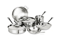Stainless 10 PC Set
